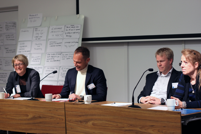 Panel discussion with Catherine Kotake, Lars Bäckström, Claes Herlitz and Sonja Forward